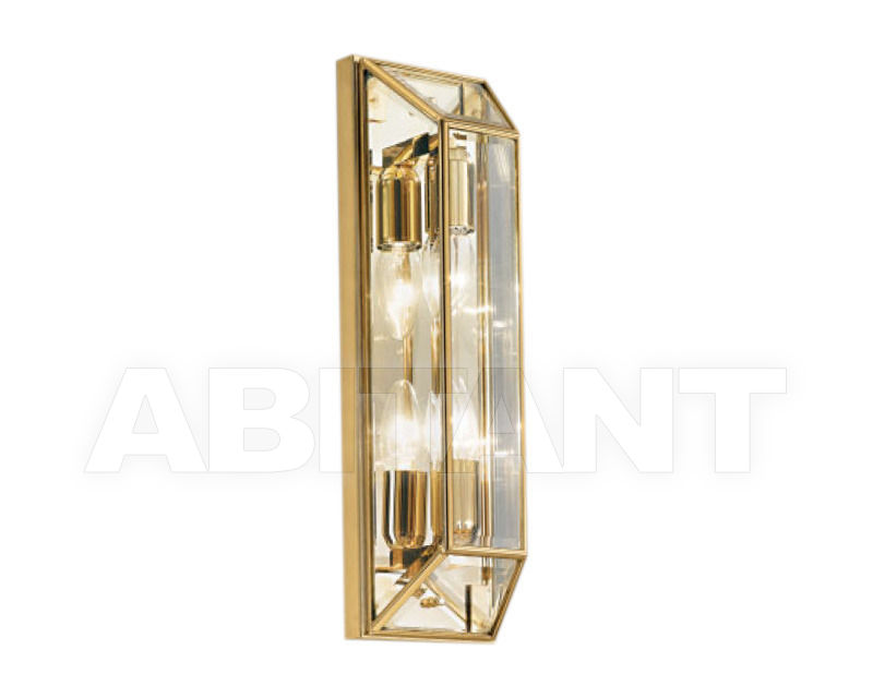 Купить Светильник настенный Cremasco Illuminazione snc Il Rilegato 1038/2AP-B.cm