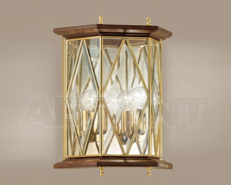 Купить Светильник настенный Cremasco Illuminazione snc Il Rilegato 1808/2AP-LN.cm
