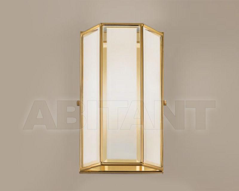 Купить Светильник настенный Cremasco Illuminazione snc Il Rilegato 1036/1AP-B.sm