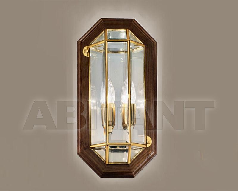 Купить Светильник настенный Cremasco Illuminazione snc Il Rilegato 1055/2AP-LN.cm