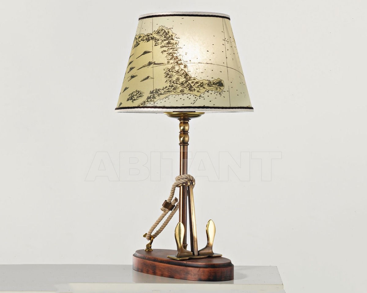 Купить Лампа настольная Cremasco Illuminazione snc Laguna Veneta 631/1LU-BRSF