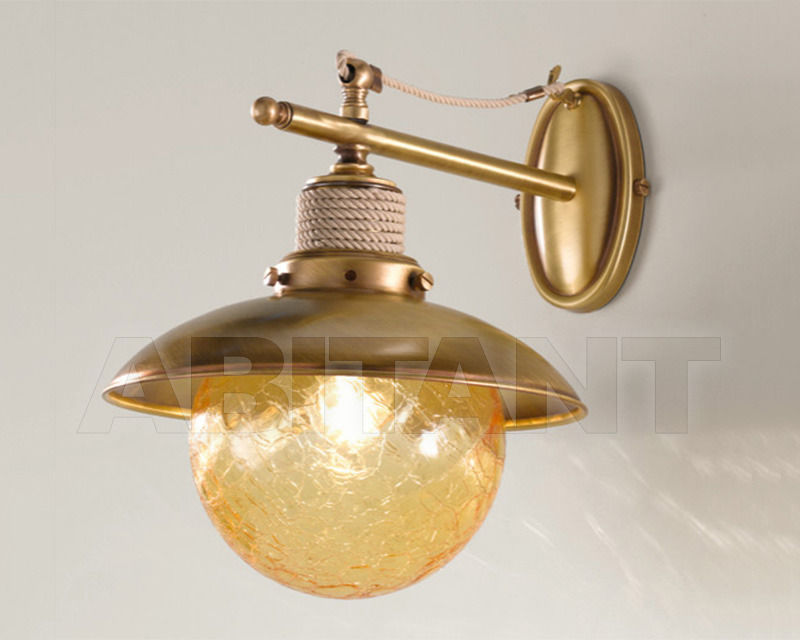 Купить Бра Cremasco Illuminazione snc Laguna Veneta 642/1AP-BRSA-AM