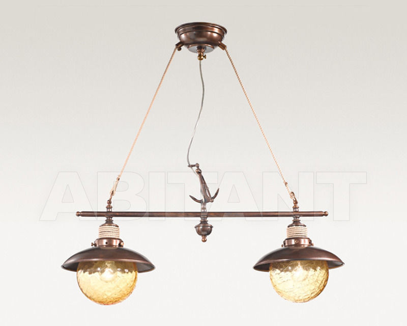Купить Люстра Cremasco Illuminazione snc Laguna Veneta 643/2S-BR-AM