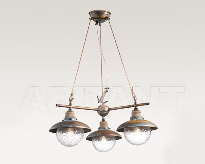 Купить Люстра Cremasco Illuminazione snc Laguna Veneta 644/3S-BRVE-TR