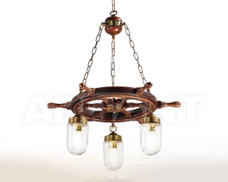 Купить Люстра Cremasco Illuminazione snc Laguna Veneta 4025/3S-BRSF-TR