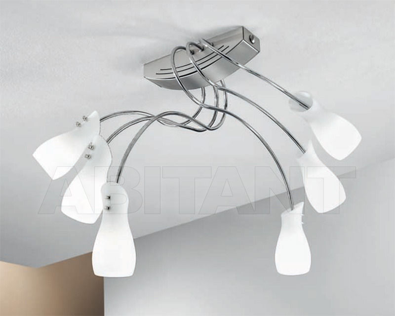 Купить Светильник Cremasco Illuminazione snc Opere Di Luce 2804/3+3PL-NSCR-BI