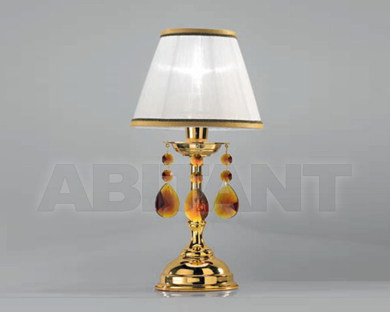 Купить Лампа настольная Cremasco Illuminazione snc Opere Di Luce 4086/1LU-OL-AM-BA