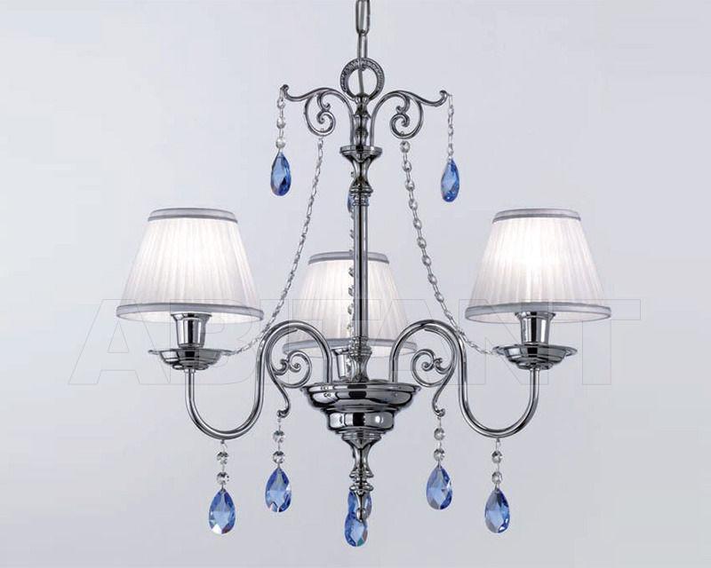 Купить Люстра Cremasco Illuminazione snc Opere Di Luce 4087/3S-CR-AZ-BI