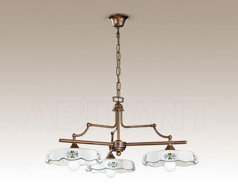 Купить Люстра Cremasco Illuminazione snc Vecchioveneto 0349/3S-BR-CE2-..