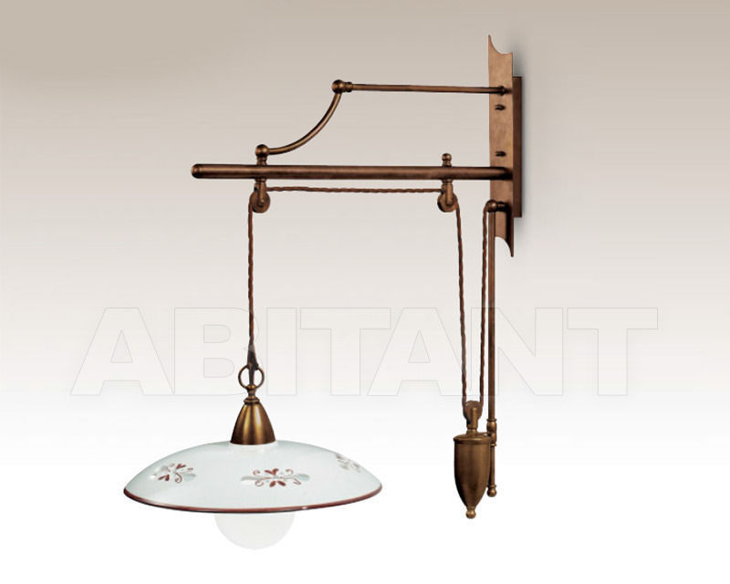 Купить Бра Cremasco Illuminazione snc Vecchioveneto 0359/1AP-CE1-..