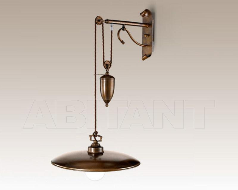 Купить Бра Cremasco Illuminazione snc Vecchioveneto 0382/1AP-GR-BR-BOM