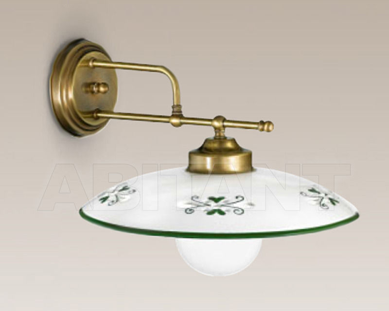 Купить Бра Cremasco Illuminazione snc Vecchioveneto 0393/1AP-BRSA-CE1-30-..