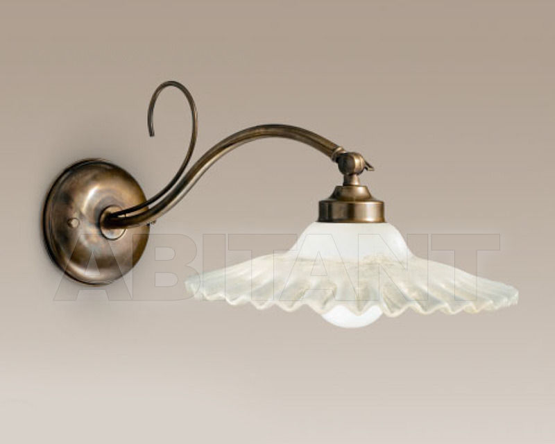 Купить Бра Cremasco Illuminazione snc Vecchioveneto 0411/1AP-MD-BR-CE1-VE