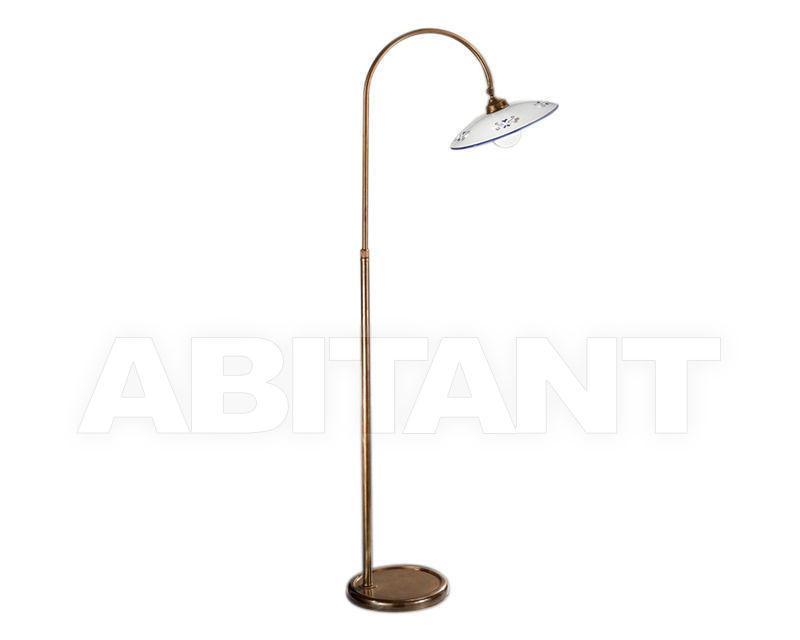 Купить Торшер Cremasco Illuminazione snc Vecchioveneto 0475/1P-BR-CE1