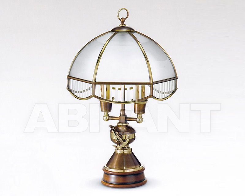 Купить Лампа настольная Cremasco Illuminazione snc Vecchioveneto 0520/2LA-BRSF-BE