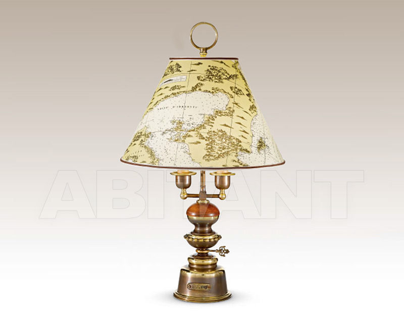 Купить Лампа настольная Cremasco Illuminazione snc Vecchioveneto 0525/2LA-BRSF