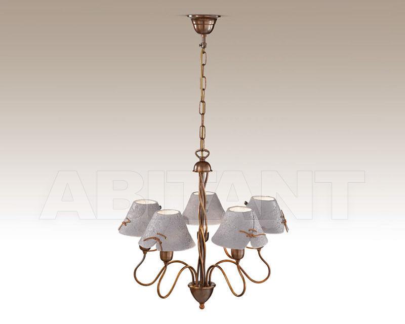 Купить Люстра Cremasco Illuminazione snc Vecchioveneto 0542/5S-GS