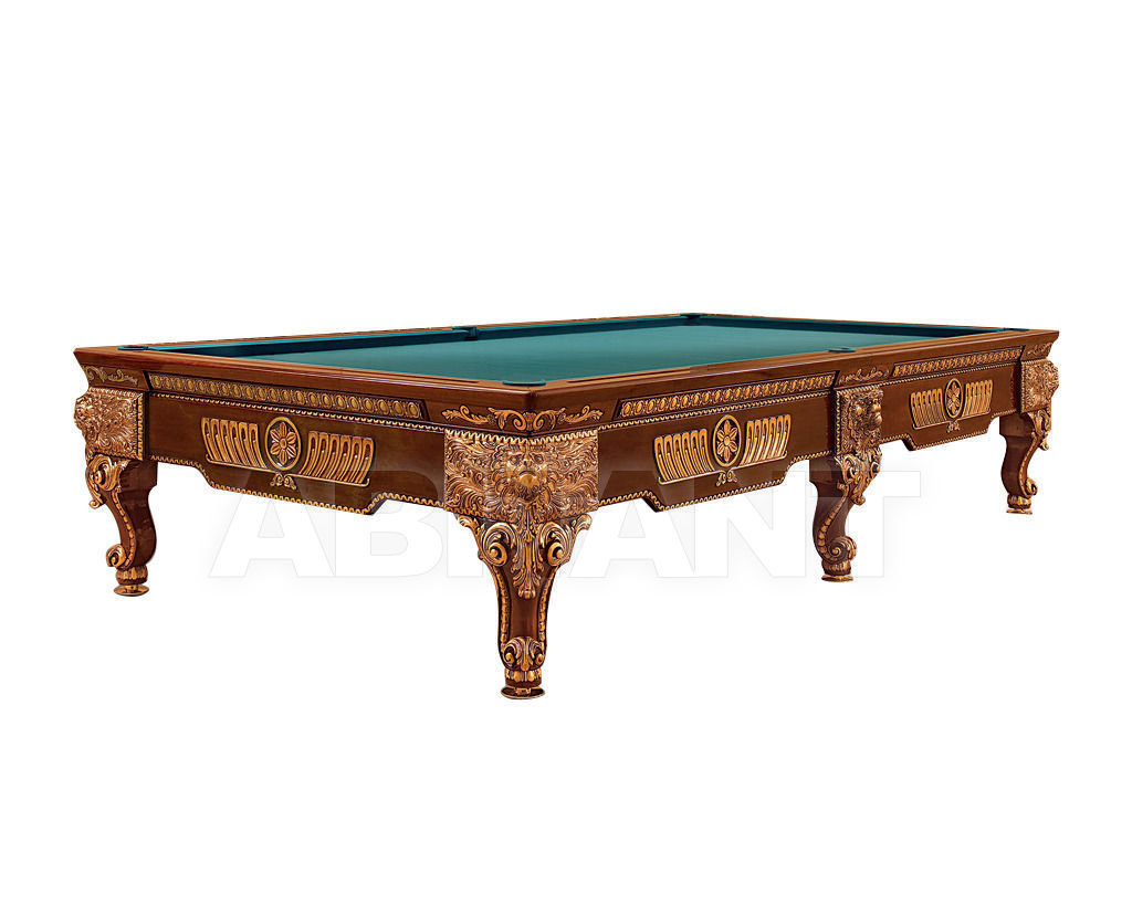Купить Бильярдный стол Lu.Bo Biliardi Biliardi LEONE NOCE/ORO