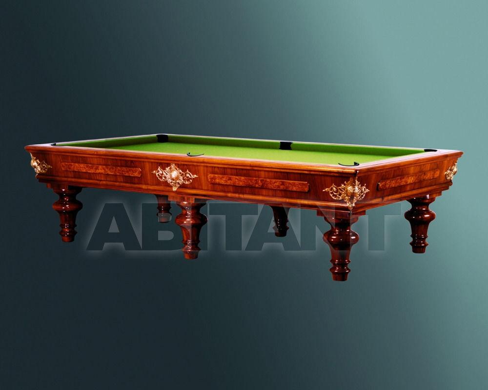Купить Бильярдный стол Hermelin & Co. Srl. American Pool ANTICO 1825 POOL 2