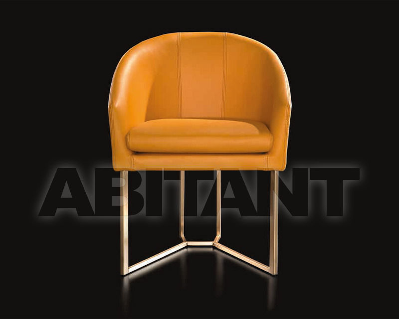 Купить Кресло Mobilfresno Iland Iland CHAIR CALAS - Metal Legs orange