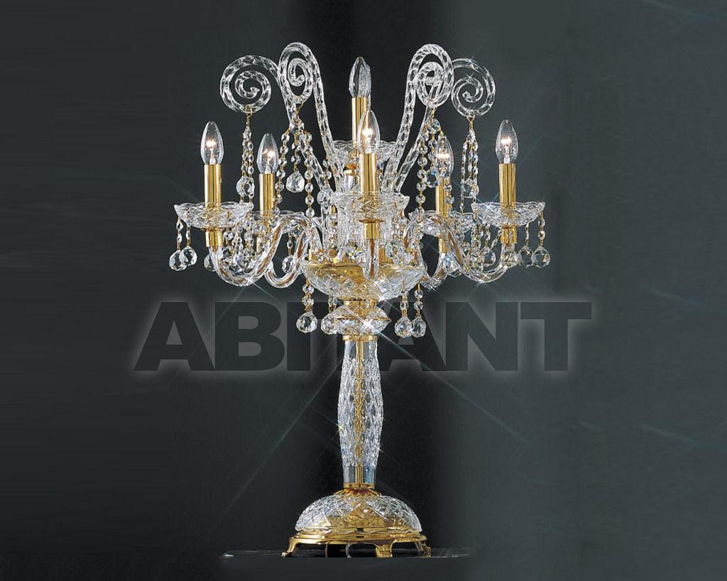 Купить Лампа настольная Asfour Crystal Crystal 2013 CL 5+1 - GOLD (PEND)