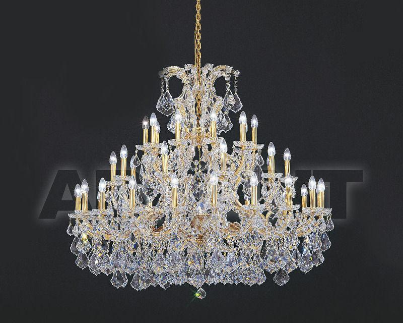 Купить Люстра Asfour Crystal Crystal 2013 CH 1502/40+1 Gold