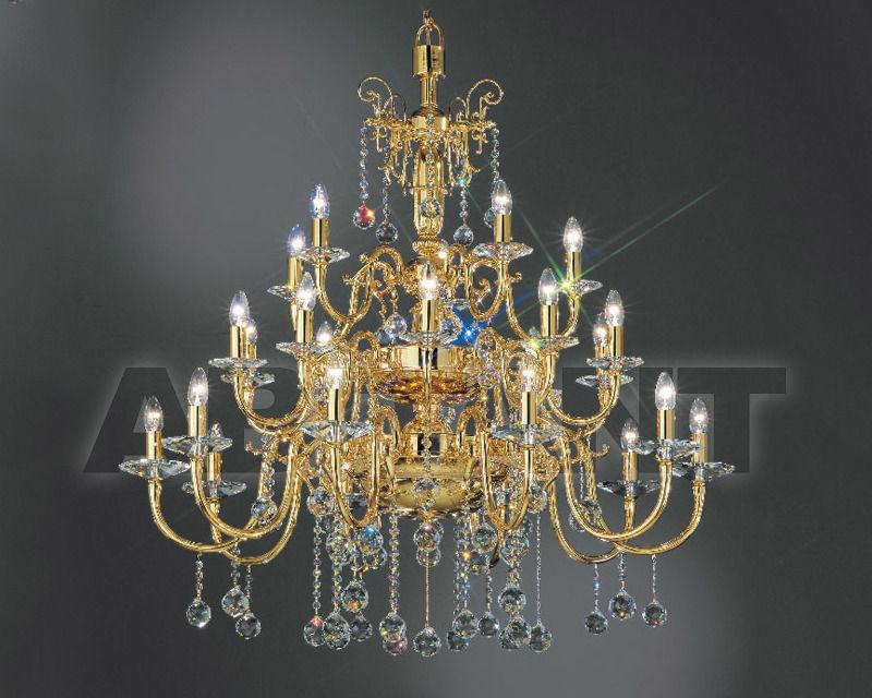 Купить Люстра Asfour Crystal Crystal 2013 CH 154/25 Gold Ball OCT 100