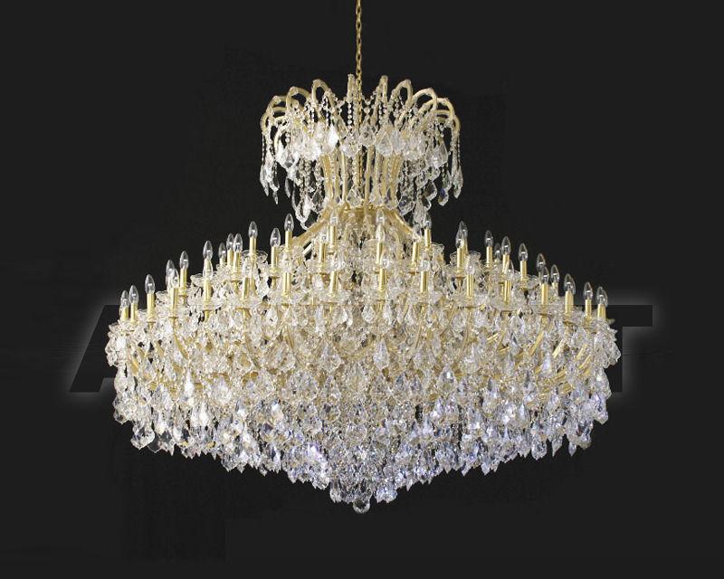 Купить Люстра Asfour Crystal Crystal 2013 CH 1644/90+10 GOLD