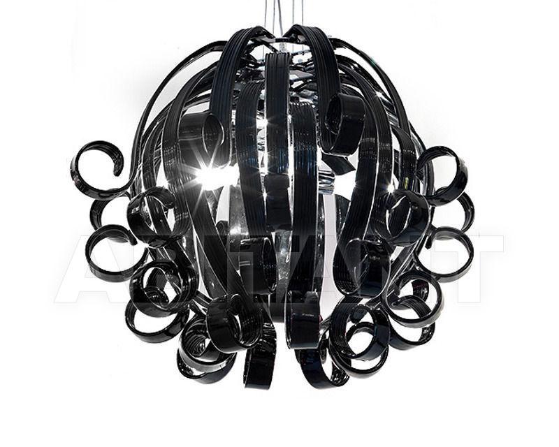 Купить Люстра Voltolina Classic Light srl Novita' Medusa 4L NERO