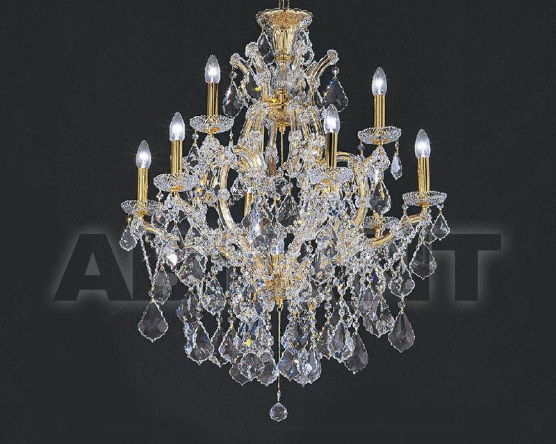 Купить Люстра Asfour Crystal Crystal 2013 CH 24/9+1 Gold