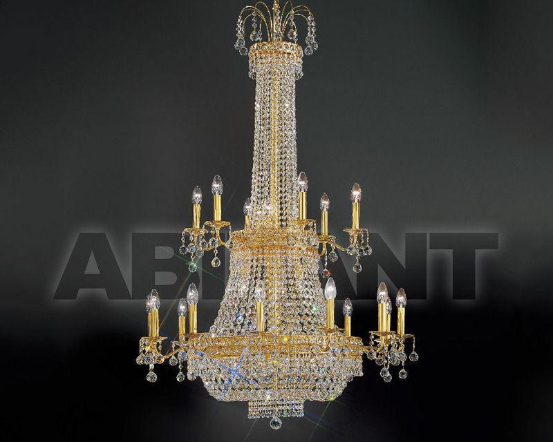 Купить Люстра Asfour Crystal Crystal 2013 CH 260/120/35 Gold Octagons