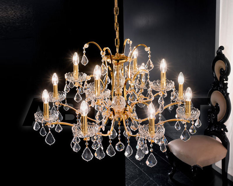 Купить Люстра Voltolina Classic Light srl Novita' Salisburgo 8+4L