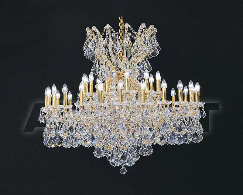 Купить Люстра Asfour Crystal Crystal 2013 CH 3105/36 GOLD