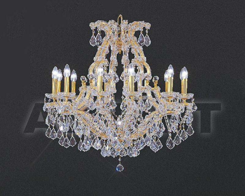 Купить Люстра Asfour Crystal Crystal 2013 CH 35/12+1 CHROME