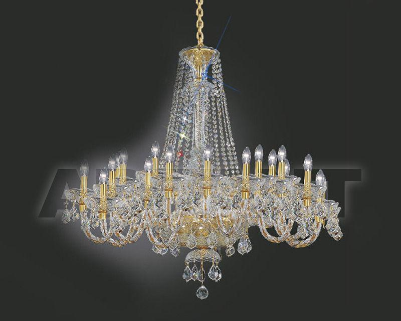 Купить Люстра Asfour Crystal Crystal 2013 CH 506 / 12 EVIL ''Pend Gold''