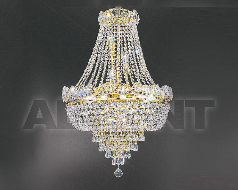 Купить Люстра Asfour Crystal Crystal 2013 CH 5170/42/14 Octagons Gold