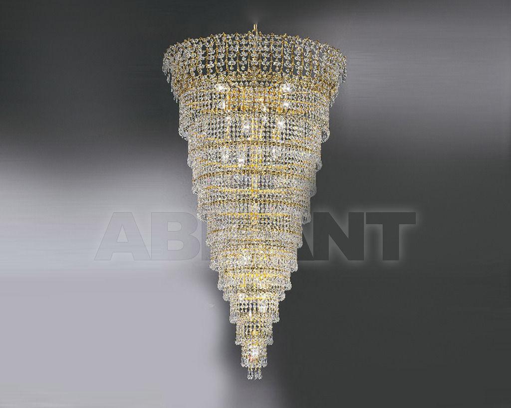 Купить Люстра Asfour Crystal Crystal 2013 CH 695/65/20 Gold Patina.Oct*Drop