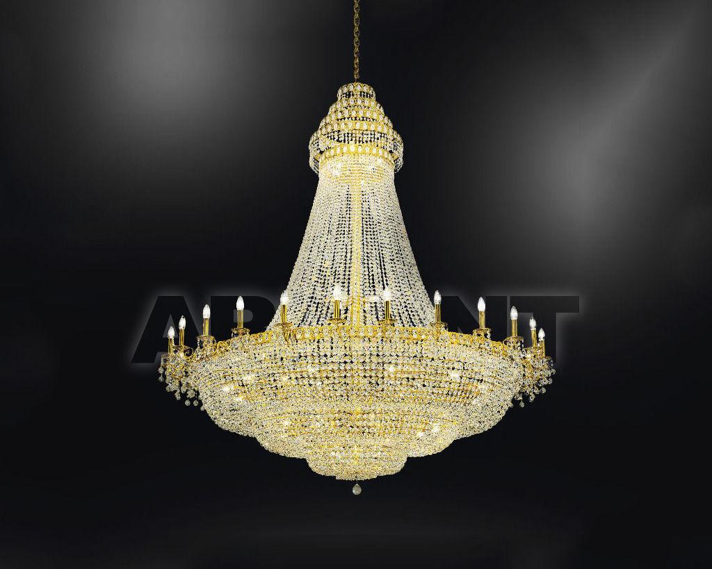 Купить Люстра Asfour Crystal Crystal 2013 CH 746/120/26 Gold Octagons