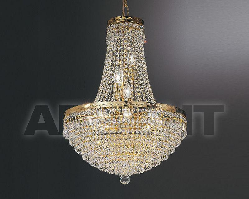 Купить Люстра Asfour Crystal Crystal 2013 CH 7538/40/8 Octagons Gold