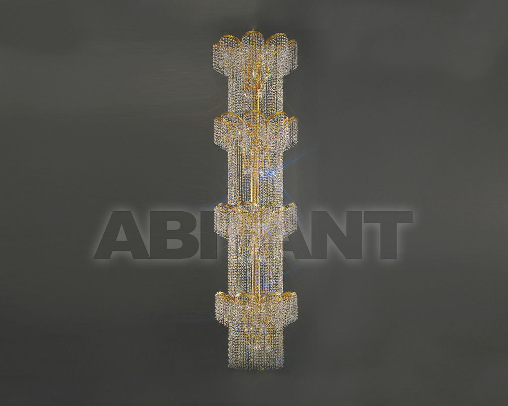 Купить Люстра Asfour Crystal Crystal 2013 CH 77386/60/48 Gold Octagons
