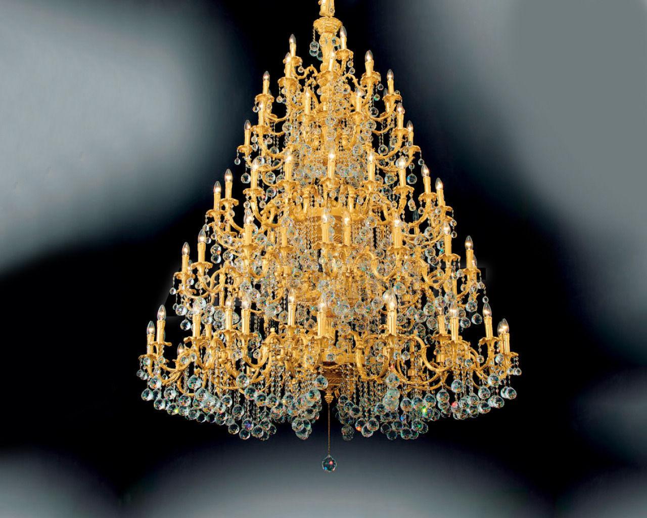 Купить Люстра Asfour Crystal Crystal 2013 CH 812/80*140 Chrome Ball*Octagons