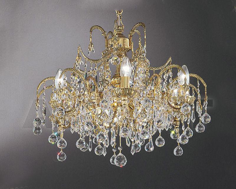 Купить Люстра Asfour Crystal Crystal 2013 CH 869/112/27 Ball*Drop Gold Patina
