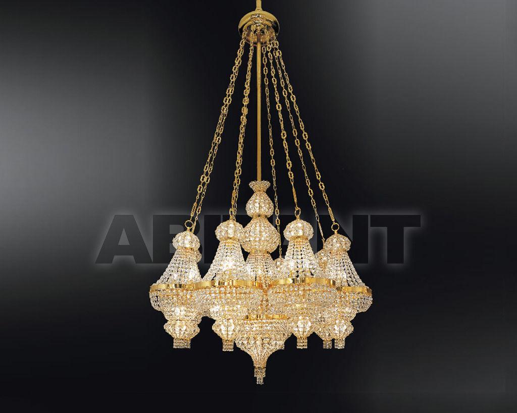 Купить Люстра Asfour Crystal Crystal 2013 CH 953/150/60 Gold.Octagons