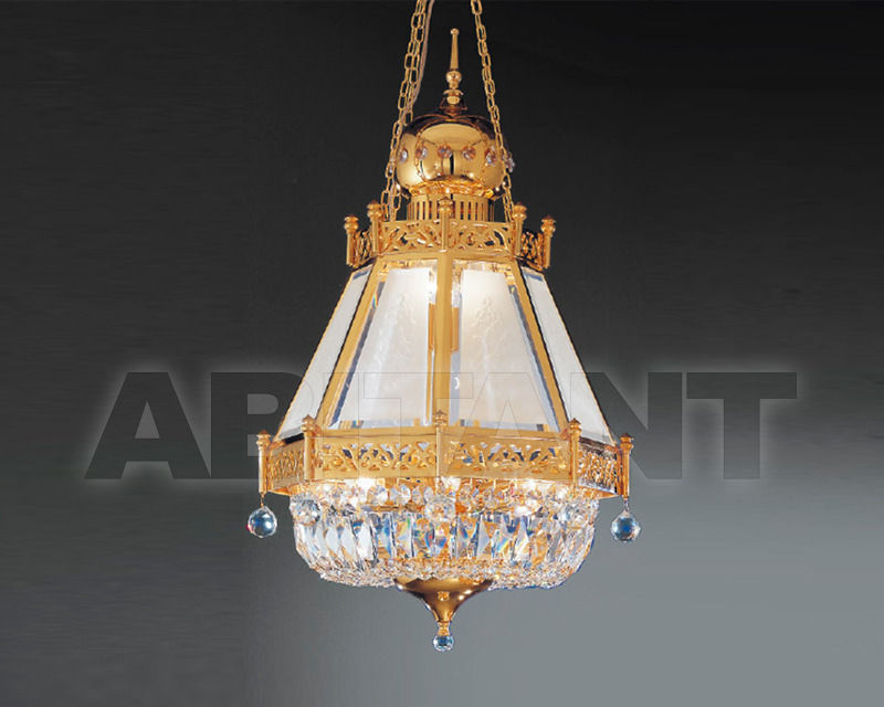 Купить Светильник Asfour Crystal Crystal 2013 LN 12/45/980 Gold . Octagons*Drop
