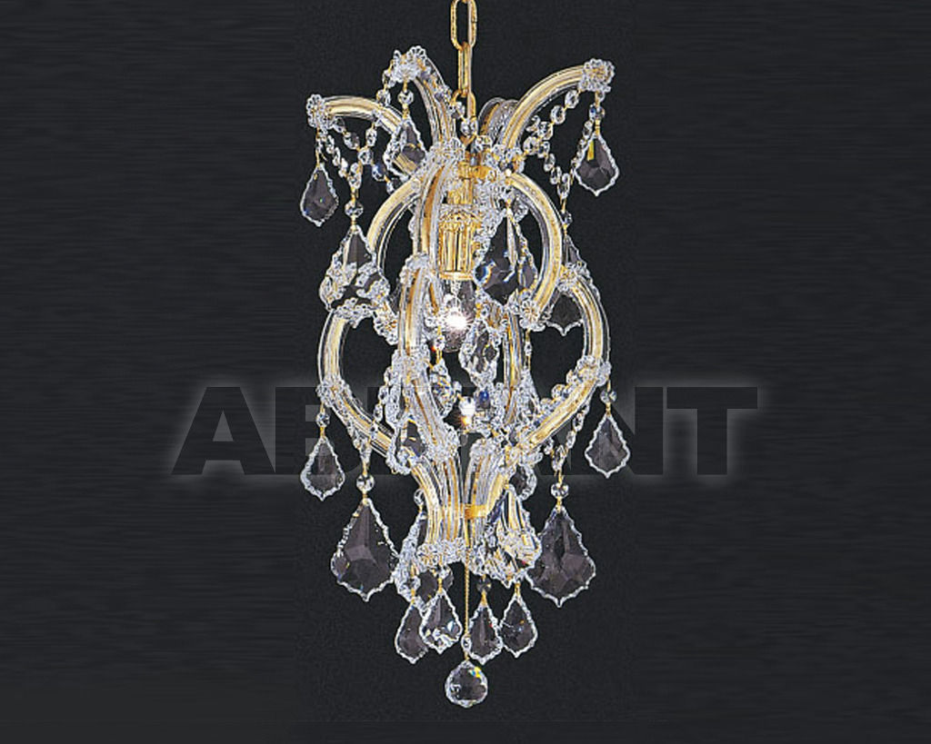 Купить Люстра Asfour Crystal Crystal 2013 LN 3020/1 GOLD
