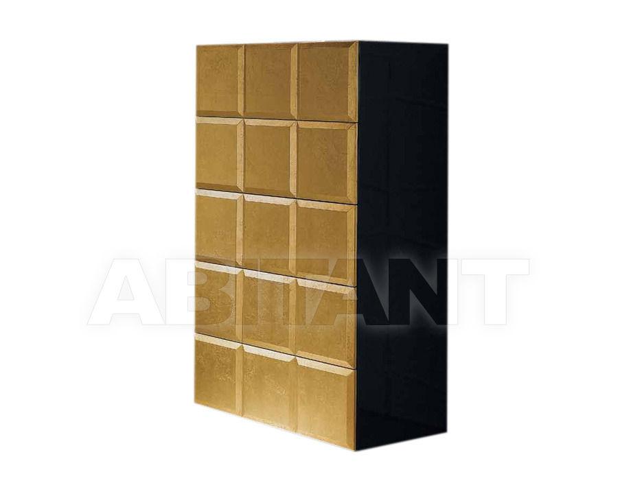 Купить Комод Cubilles Logica  Dormitorios Exclusivos NATASSIA CHIFFONIER 75  CAJA LACADO/FRENTES PLATA-ORO 1