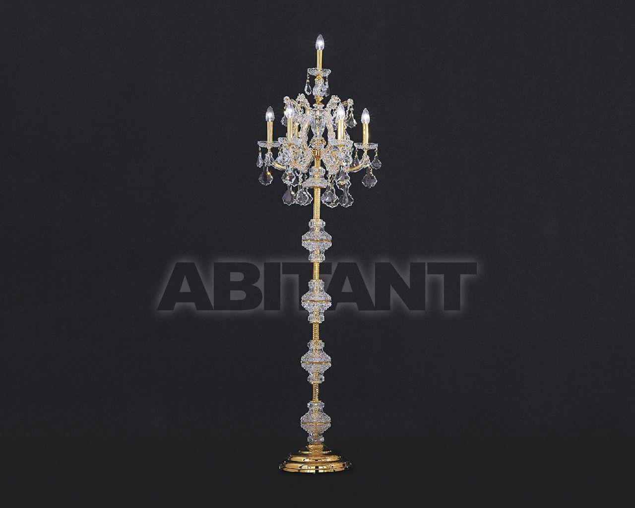 Купить Торшер Asfour Crystal Crystal 2013 FL 3024/6 GOLD