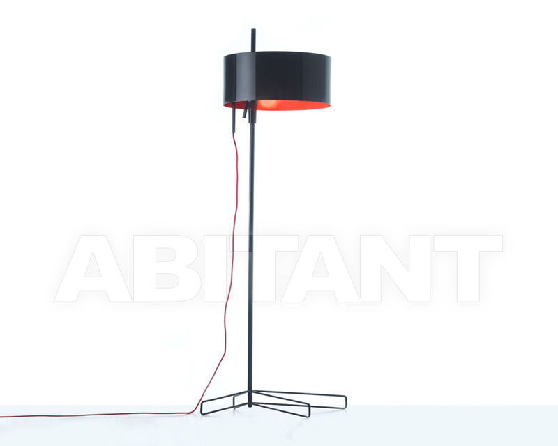 Купить Торшер Grupo B.Lux Deco 3G black and red Floor lamps