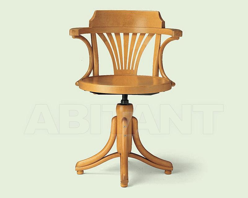 Купить Стул с подлокотниками Italcomma Complementi D'arredo S.R.L  Heritage B5523 Var Faggio naturale 030 /  Natural beechwood 030