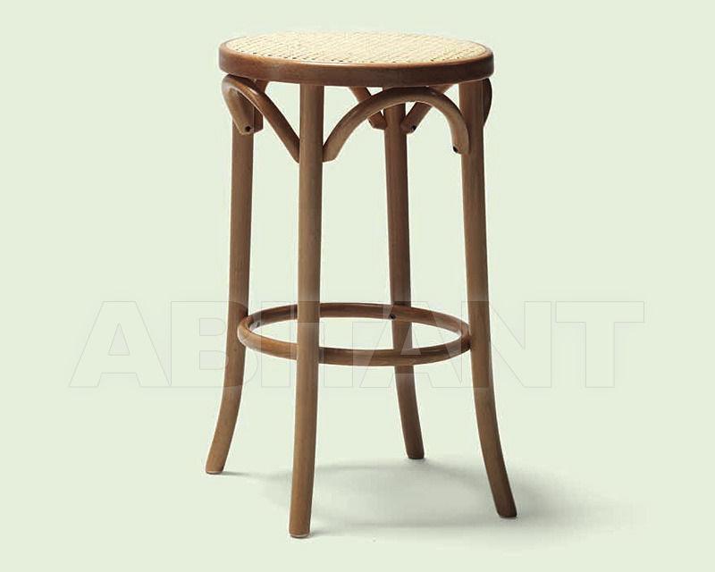 Купить Барный стул Italcomma Complementi D'arredo S.R.L  Heritage BST75 Noce 032 /  Walnut 032